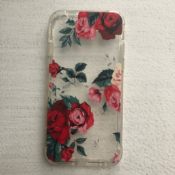 huge selection of 94341 66244 Red rose iPhone 6 case